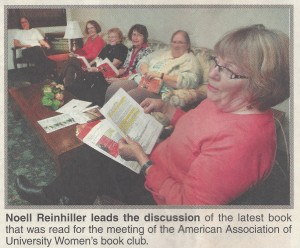 AAUW_2-book club paper 11-3-11 - Copy